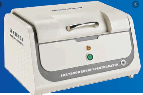 EDXRF SPECTROMETER – Model  EDX-2800B